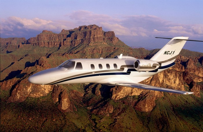 Light jets for charter hire