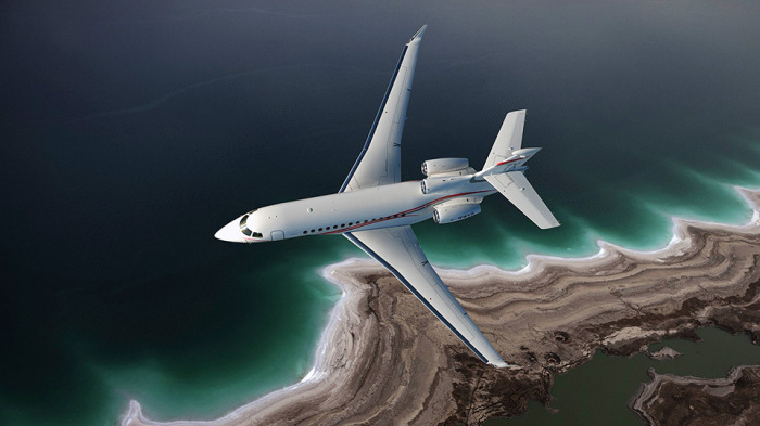Falcon 7X for charter hire from Exact Aviation