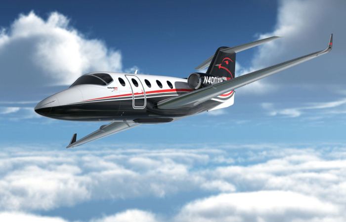 Hawker 400 XPR for charter hire with Exact Aviation