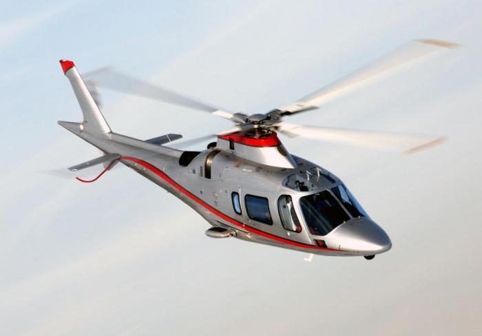 Agusta Westland helicopter for hire