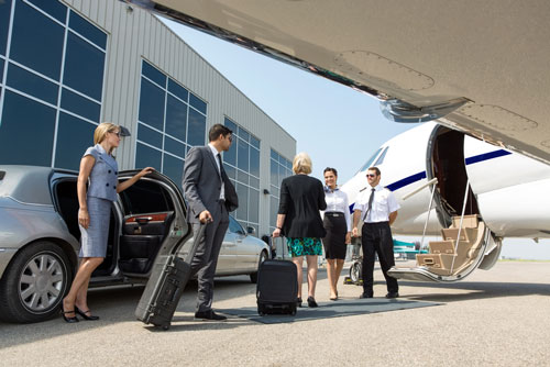 Business jet hire