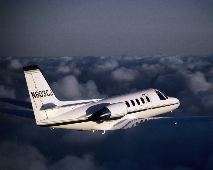 Citation II for charter hire with Exact Aviation