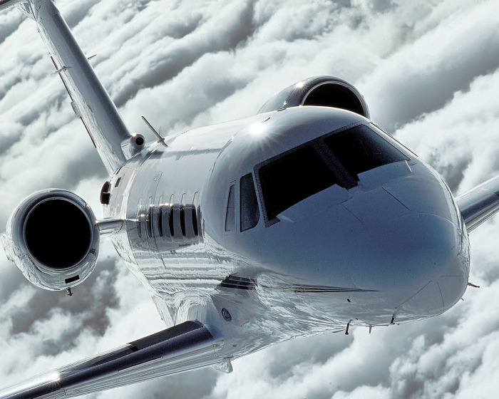 Citation III for charter hire with Exact Aviation